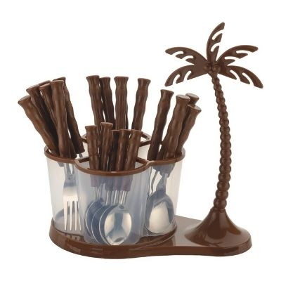 Lucky Box Cutlery Set for Dining/Cutlery Set with Stand for Kitchen