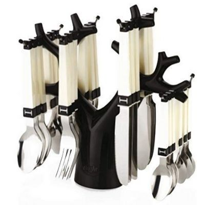 PERFECT SHOPEE Stainless Steel Fork Table Spoon Tree Cutlery Set